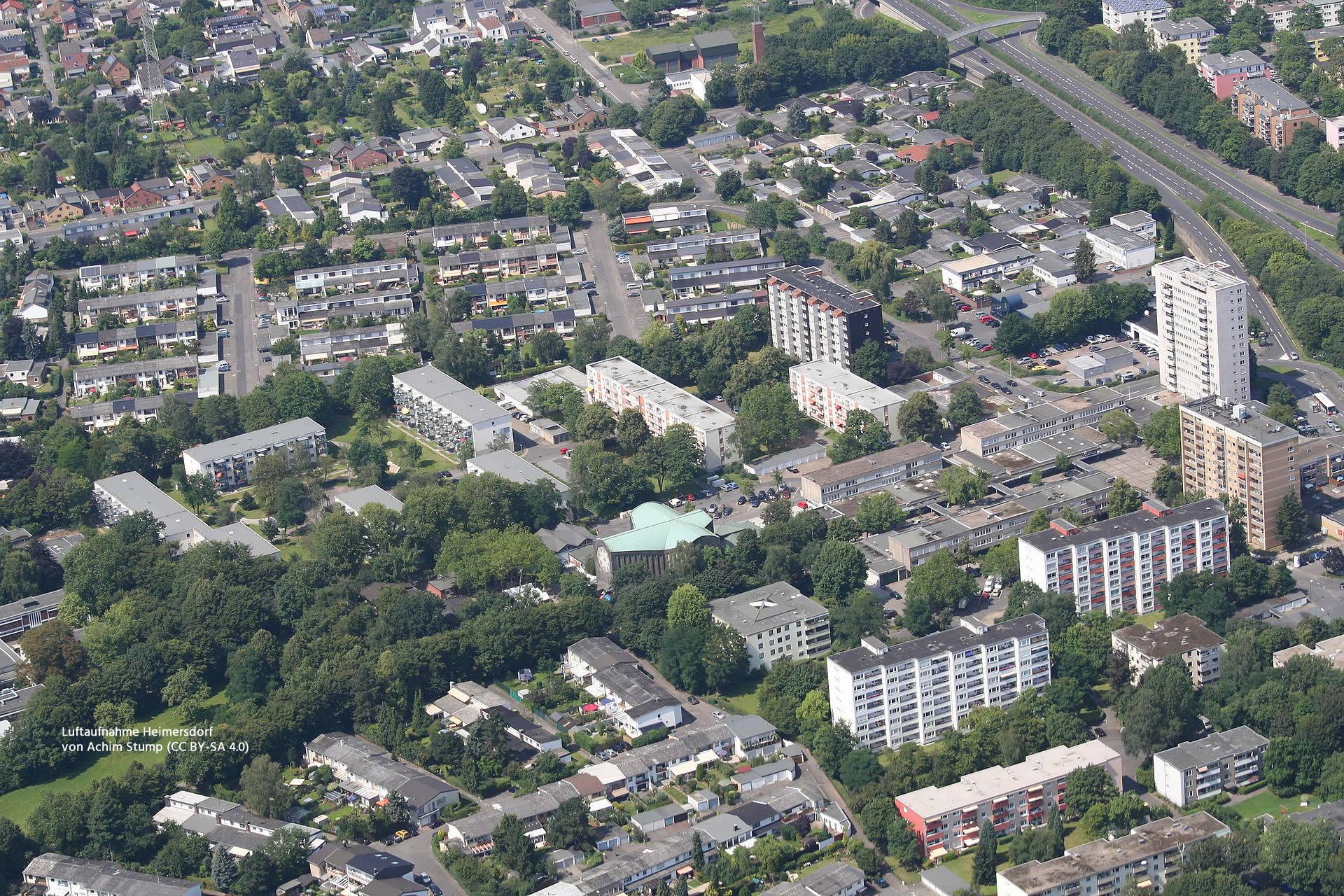 Luftaufnahme Heimersdorf von Achim Stump (CC BY-SA 4.0)