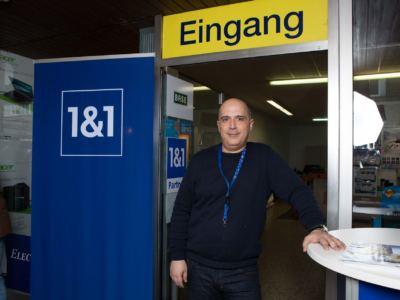 Herr Volaris freut sich auf Ihren Einkauf!