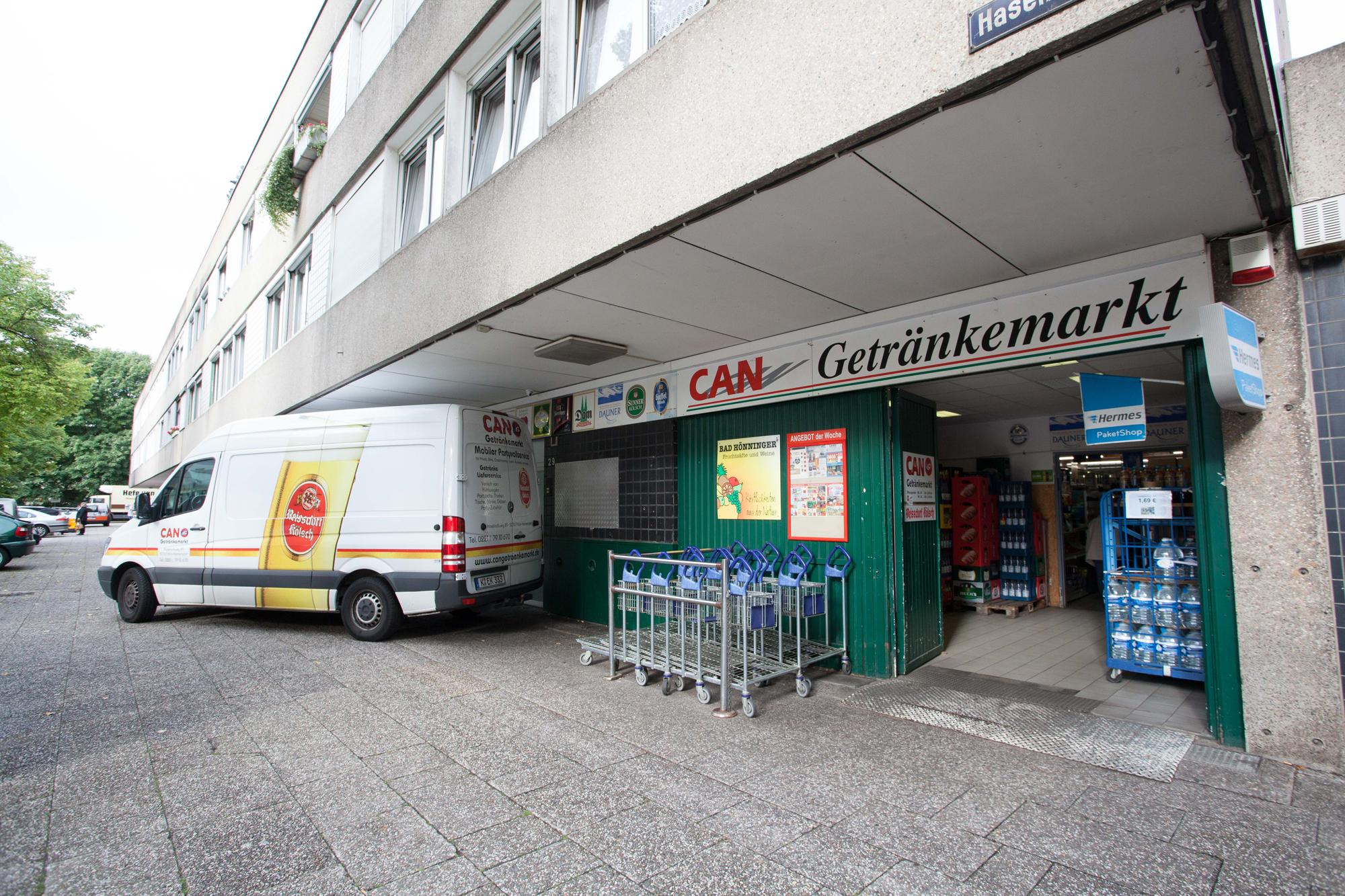 Can Getränkemarkt – Heimersdorf – Einkaufszentrum Haselnußhof & mehr