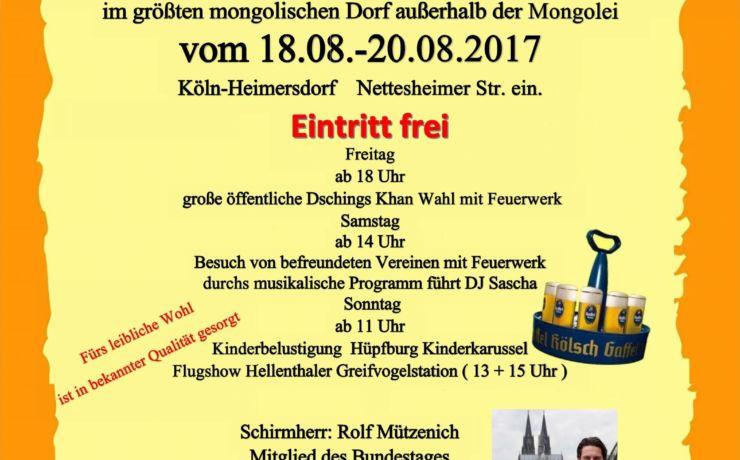 Sommerlager – 1. Kölner Mongolen Horde vun 1984 e.V.