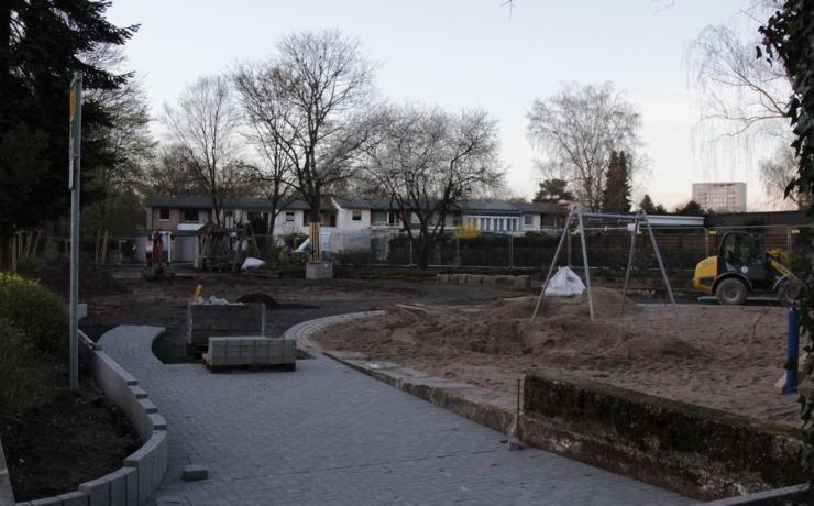 Sanierung ehemaliger Wasserspielplatz
