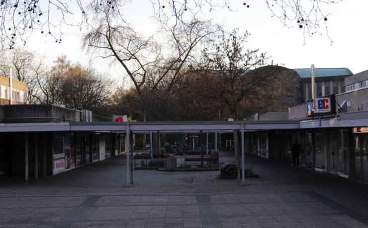 Im Heimersdorfer Einkaufszentrum geht das Licht an