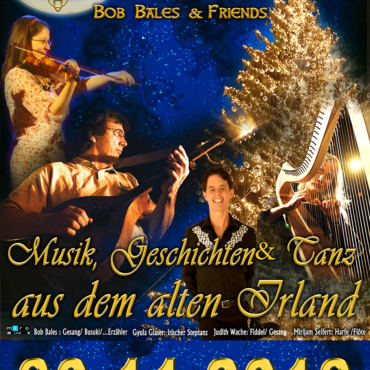 Irish Christmas am 30.11.2018 im Taborsaal