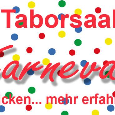 Karneval im Taborsaal